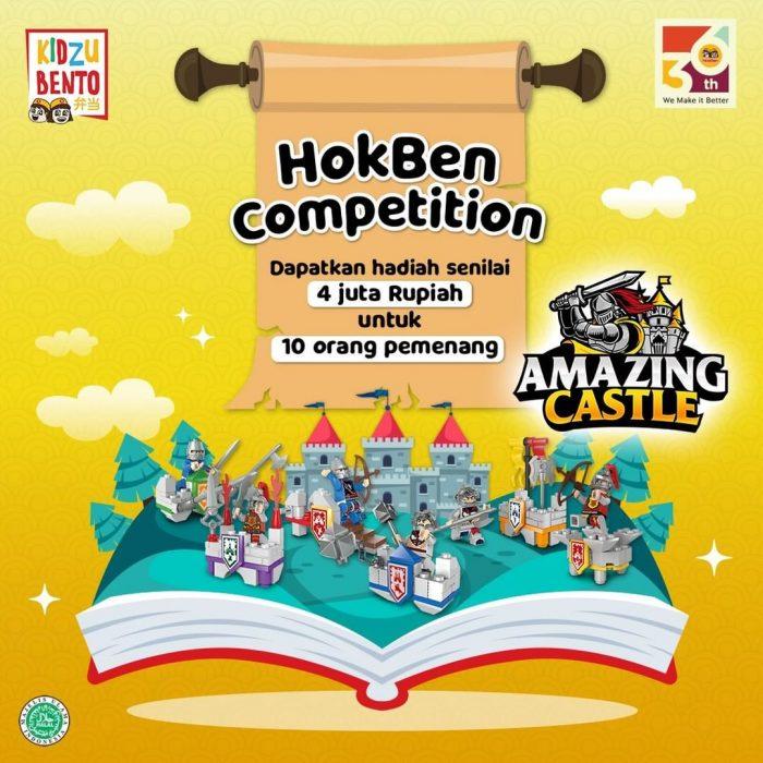 HokBen Competition Berhadiah Total Rp 4 JUTA Untuk 10 Pemenang