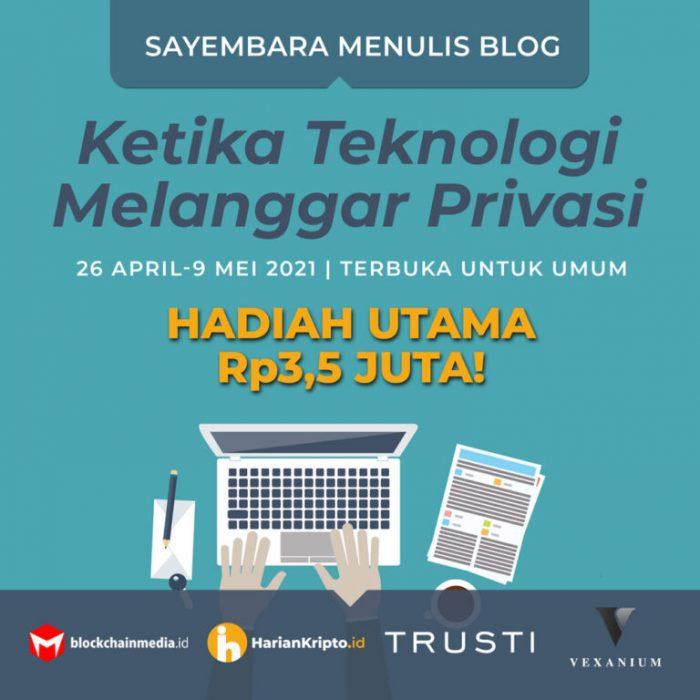 Kompetisi Blog Harian Kripto Berhadiah Total 8 JUTA Rupiah