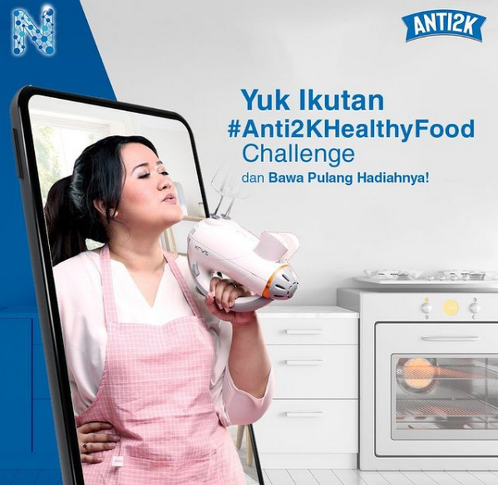 Kontes Masak Anti2K Healthy Food Berhadiah Samsung Galaxy A12