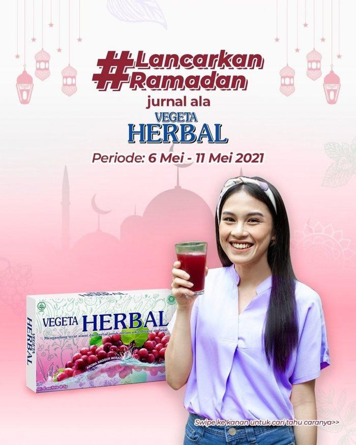 Lancarkan Ramadan Jurnal Vegeta Herbal Berhadiah Total 8 Juta Lebih