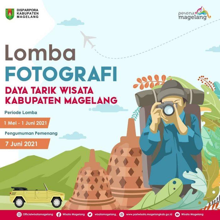 Lomba Foto Daya Tarik Wisata Magelang Hadiah Jutaan Rupiah