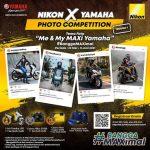 Lomba Foto Me & My MAXi Berhadiah Sepeda Motor Yamaha LEXi