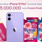 Lomba Foto Royale SoKlin Hadiah iPhone 12, Voucher Alfamart 25 Juta, dll