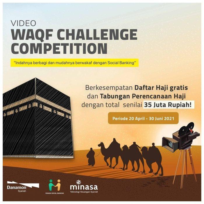 Lomba Video WAQF Challenge Hadiah Total Senilai 35 JUTA Rupiah
