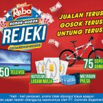 Promo Gosok Rejeki Kuaci Rebo Berhadiah Pulsa, TV, Emas & Sepeda