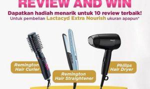 Review Lactacyd Extra Nourish Menangkan Alat Perawatan Rambut