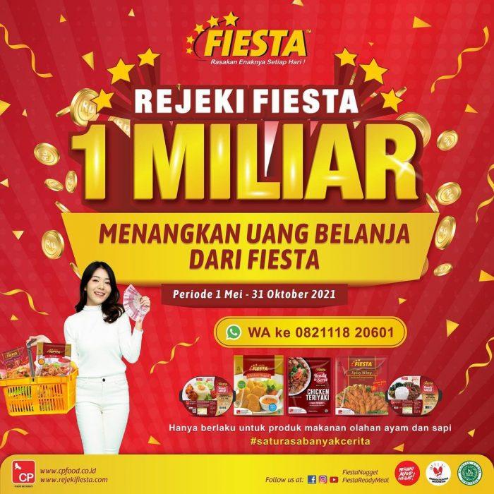 Undian Rejeki Fiesta Menangkan Uang Belanja Total 1 Miliar