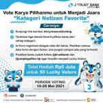 Vote Karya Desain Maskot JTrust Bank Berhadiah Total 5 Juta