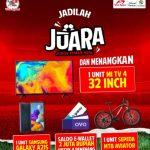 Bikin Instastory Juggling Berhadiah Mi TV 4 32 Inch, Sepeda MTB, dan lainnya