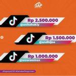 Daftar Para Pemenang Lomba TikTok SAP Express