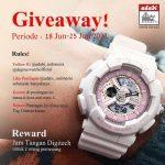 Giveaway Adabi Berhadiah Jam Tangan Digitech Untuk 2 Pemenang