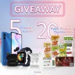 Giveaway IG Mustika Ratu Berhadiah 5 unit Produk Xiaomi