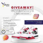Giveaway Yukata Berhadiah Sepatu Anak Eksklusif Nike Air Jordan 4 Fire Red