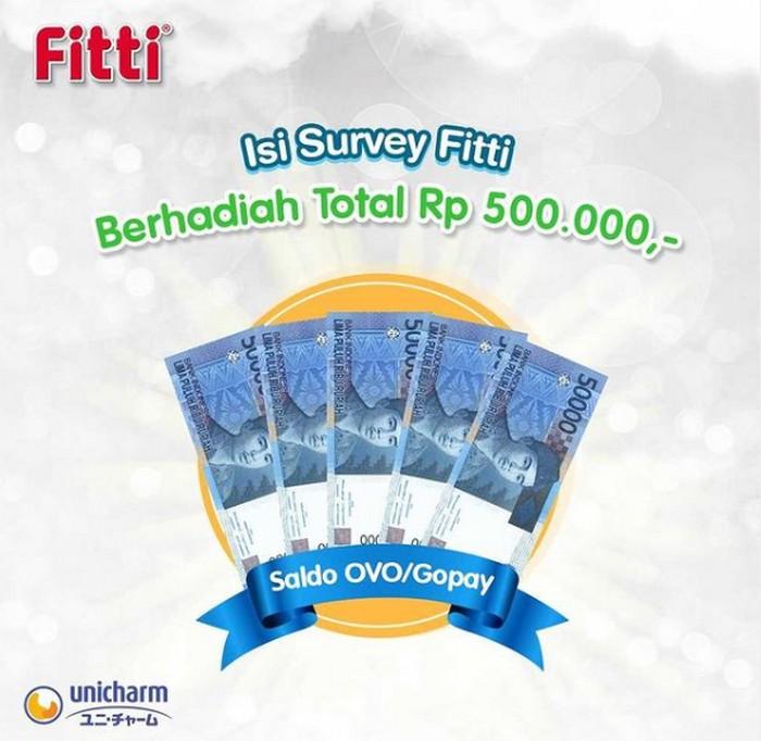 Isi Survey Fitti Digital Ads Berhadiah Saldo OVO/Gopay Total 500.000