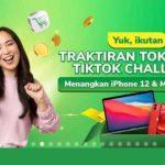 Kontes TikTok Traktiran Tokopedia Menangkan iPhone 12 & Macbook Air