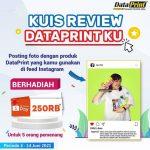 Kuis Review Dataprint Ku Berhadiah Shopee Pay 250 Ribu Rupiah