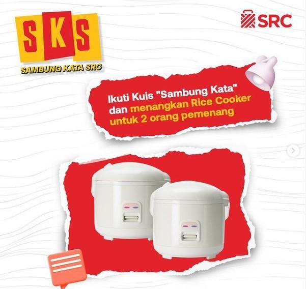 Kuis Sambung Kata SRC Berhadiah 2 unit Rice Cooker Gratis