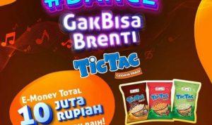 Lomba Dance Gak Bisa Brenti Berhadiah E-Money Total 10 Juta dari TicTac