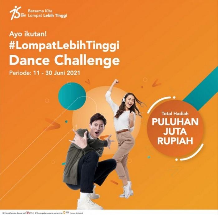 Lomba Dance Lompat Lebih Tinggi BNI Berhadiah Total 23 Juta Rupiah