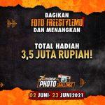 Lomba Foto 76Rider Freestyle Sepeda Total Hadiah 3,5 Juta Rupiah