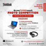 Lomba Foto CreaThink Result Berhadiah 2 Laptop Lenovo ThinkBook Gen 2