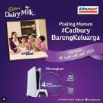Lomba Foto Momen Cadbury Bareng Keluarga Berhadiah 4 unit Playstation 5