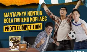 Lomba Foto Nonton Bola Bareng Kopi ABC Berhadiah PS5, Poco X3 Pro, dll
