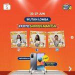 Lomba Foto Shopee Mantul Berhadiah 3 unit XIAOMI Redmi Note 10 Pro
