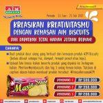 Lomba Kreasi Kemasan AIM Biscuits Berhadiah Total Lebih dari 1 Juta Rupiah