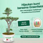 Lomba Kreasi Kemasan Greenfields Berhadiah Saldo Digital 1 Juta