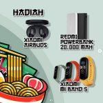 Lomba Kreasi Menu Mayasi Berhadiah Mi Band 5, Airbuds & Powerbank
