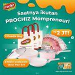 Lomba Kreasi Menu Prochiz Mompreneur Berhadiah Uang, Cookware, dll