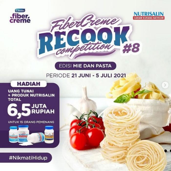 Lomba Masak Mie Pasta FiberCreme Berhadiah Uang + Produk Total 6,5 Juta
