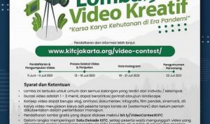 Lomba Video Kehutanan di Era Pandemi Berhadiah Total 27 Juta Rupiah