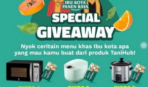 Promo Special Giveaway Tanihub Berhadiah Oven, Digital Rice Cooker, dll