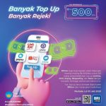 Promo Top Up Pakai BRImo Berhadiah Saldo Tabungan Total 50 Juta