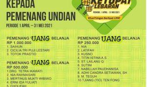 Selamat Kepada Pemenang Undian Ketupat Lebaran ITC Surabaya