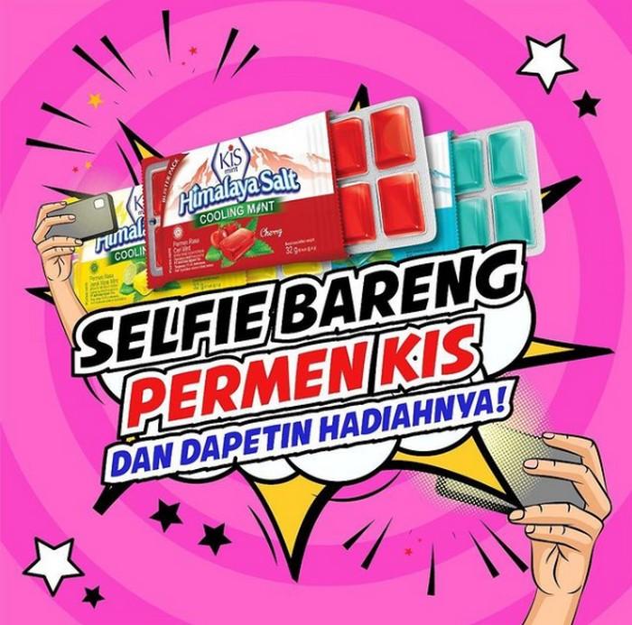 Selfie Bareng Permen Kis Berhadiah Saldo OVO + Parsel Produk