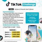 TikTok Challenge Kurban di Rumah Amal Salman Berhadiah Total 3 Juta