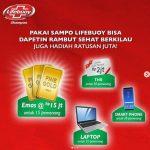 Undian Sampo Lifebuoy Berhadiah Emas, Laptop, Smartphone & Gopay