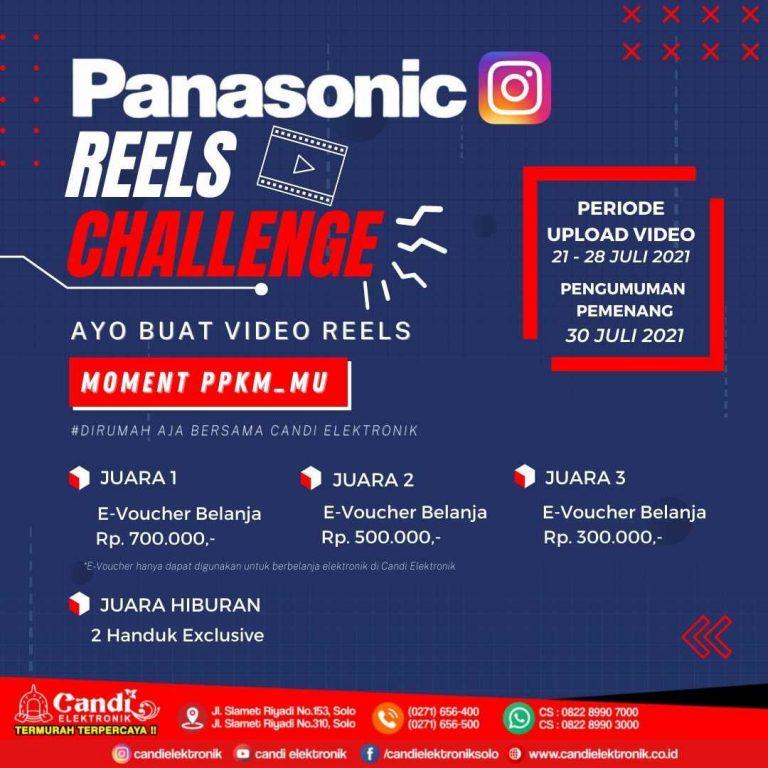 Panasonic Reels Challenge Berhadiah E-Voucher Belanja Jutaan Rupiah