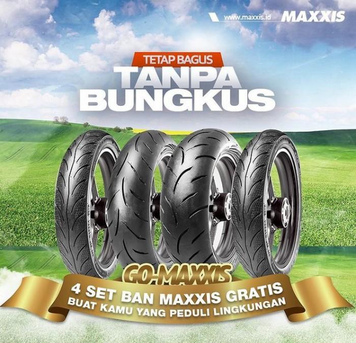 Buat Video Kendaraan Pakai Ban Maxxis, Berhadiah 4 Set Ban Gratis