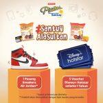 Kontes Video Santuy Ala Sultan Berhadiah Sneakers Air Jordan