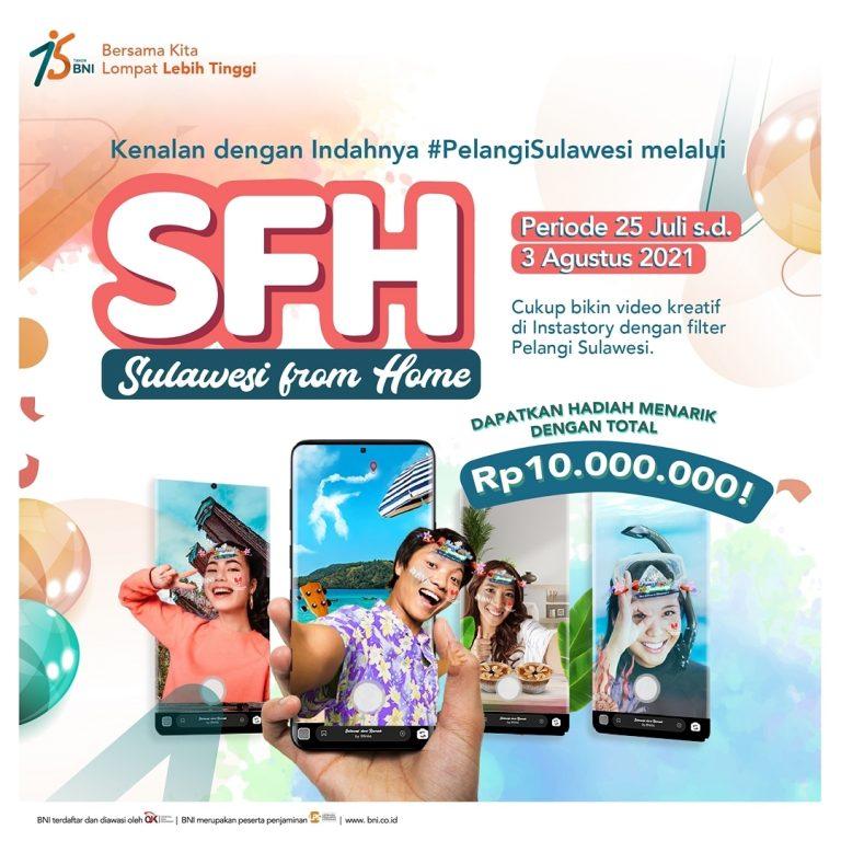 Kuis Filter Instagram Sulawesi From Home Hadiah Total 10 Juta Rupiah