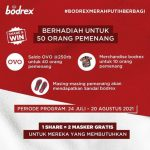 Kuis Share Bodrex Merah Putih Berbagi Hadiah Saldo OVO 10 Juta