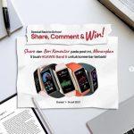 Kuis Share & Komen Berhadiah Huawei Band 6 Buat Lima Orang Pemenang
