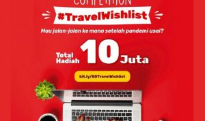 Lomba Blog Travel Wishlist Total Hadiah 10 Juta Rupiah (DAFTAR DULU)