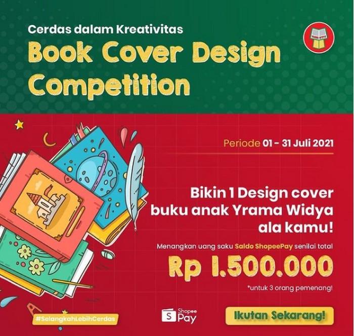 Lomba Desain Cover Buku Yrama Widya Berhadiah Shopeepay Total 1.5 Juta
