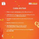 Lomba Foto Shopee Juara Versi Gue Berhadiah 3 unit OPPO A54