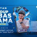 Lomba TikTok Hidup Bebas Drama Berhadiah iPhone 12, SAMSUNG S21, dll